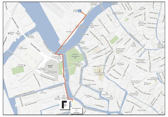 mappa fondazione venezia