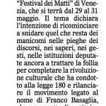 Il Gazzettino 26 mag 2015